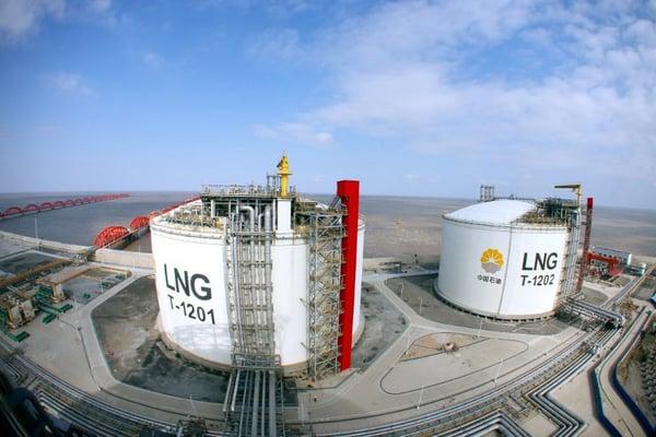 Chinese LNG Tanks