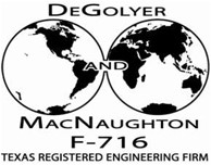DeGolyer MacNaughton Logo