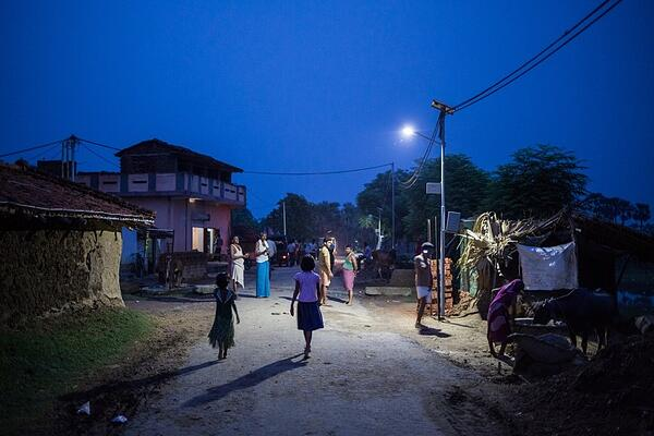 India LED Streetlight Project