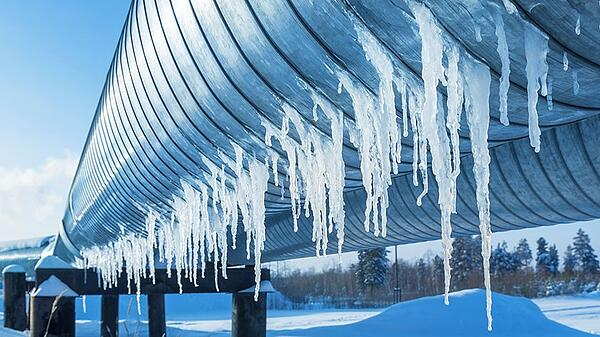 natural gas in winter