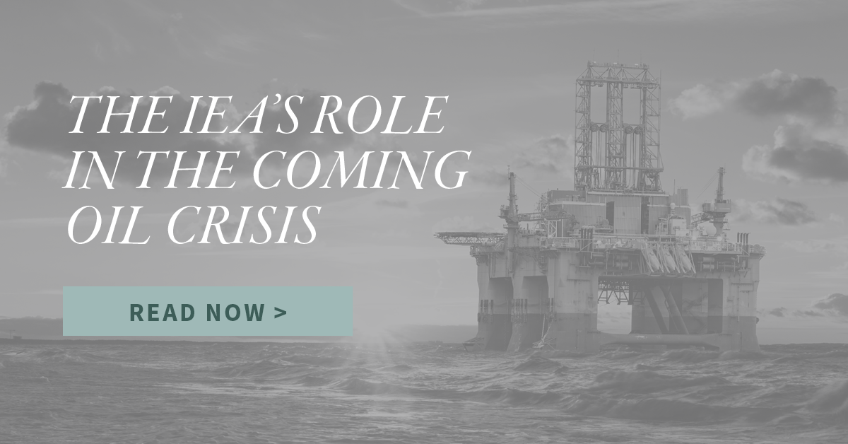 The IEA's Role in the Coming Oil Crisis